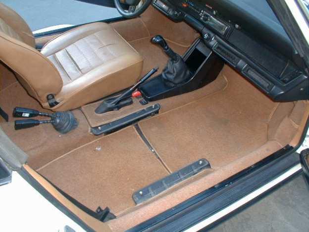 remove car seat to clean carpet