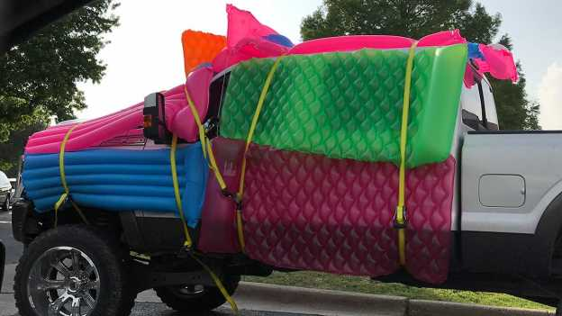 protect your car from hail damage with blankets