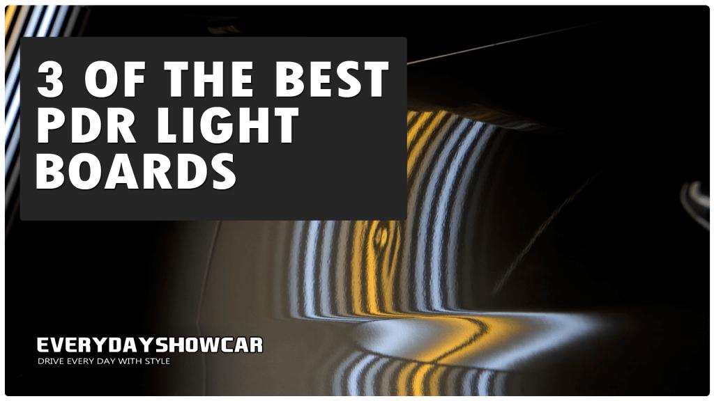 Best PDR Light Boards: 3 LED PDR Reflector Boards!