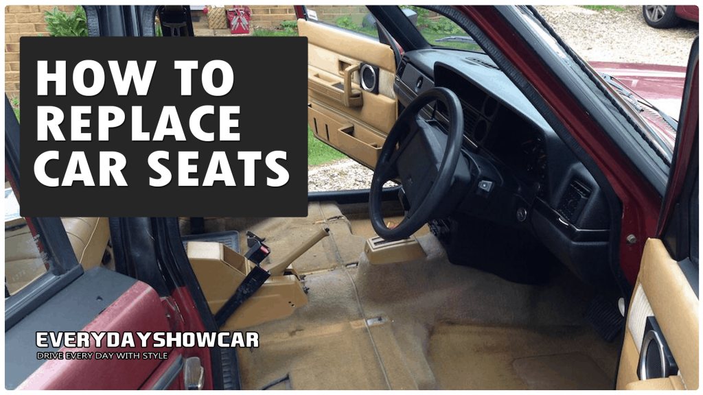 How To Replace Car Seats In A Matter of Minutes!