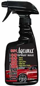 Duragloss Aquawax spray wax