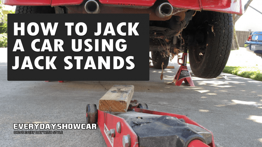 Jack Up Car Lifting All 4 Wheels