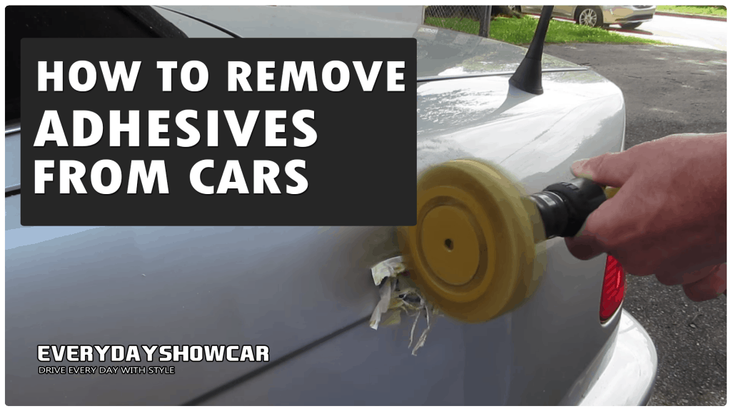 How To Remove Car Trim Adhesive