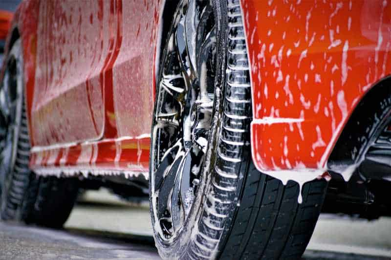 dry your car to prevent water spots