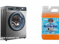 clean car wash mitts